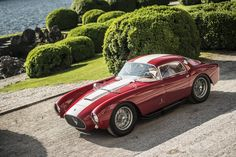 "Maserati A6 GCS ist ""Best of Show"" beim Concorso d'Eleganza Villa d'Este 2016   Classic Driver Magazine"