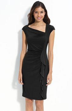 Cute lil black dress .. Just bought one similar to this today..Wearing it to the Fire Dept. Gala! CUTE