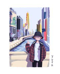 drawings - 1999 on Illustrations And Posters, Character Design, Character Illustration, Illustration Character Design, Cute Art, Cute Cartoon Wallpapers, Cute Drawings, Boy Art, Aesthetic Art