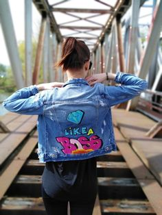 Denim, Jackets, Fashion, Down Jackets, Fashion Styles, Jacket, Fashion Illustrations, Jeans, Trendy Fashion