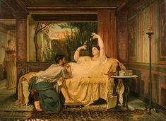 Charles-Guillaume Brun Montpellier, 1825 - Paris, 1908 - Le Moineau de Lesbie - [...], Maîtres Anciens & du XIXe siècle à Artcurial