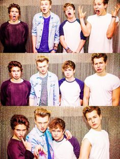 Lol rofl ( roll on floor laughing )  The Vamps look so freakin' funny !!!
