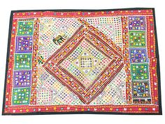 INDIAN-VINTAGE-PATCHWORK-WALL-DECOR-HANDMADE-EMBROIDERED-WALL-HANGING-60X40  http://stores.ebay.com/mogulgallery/WALL-HANGINGS-TAPESTRIES-/_i.html?_fsub=353416519&_sid=3781319&_trksid=p4634.c0.m322