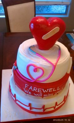 Dr. farewell By cakesforhearts on CakeCentral.com