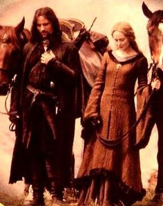 Aragorn and Eowyn - Aragorn Costume, Legends And Myths, Shield Maiden, King Richard, Chronicles Of Narnia, Jrr Tolkien, Dark Lord, Great Stories, Cool Costumes