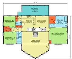 Walkout basement designs on pinterest log homes log for Prow front house plans