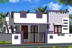 Elevations Of Independent Houses 2018 And Charming New House For ImagesKết quả hình ảnh cho elevations of independent BHK Independent House for Sale in Srinivasa Nagara Independent House Poonamallee, Chennai - 880 Sq feet - Lakhs - 575 House Front Wall Design, Single Floor House Design, House Outside Design, Village House Design, Bungalow House Design, Small House Design, Modern House Design, Front Elevation Designs, House Elevation