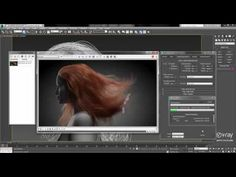 V-Ray for Max – Faster Hair Rendering 3d Max Tutorial, Sketchup Rendering, Zbrush Hair, Zoella Hair, Real Background, Sketchup Free, Photo Room, Digital Sculpting, Color Picker