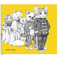 by Yuko Higuchi Japanese Artwork, Surrealism Painting, Fairytale Art, Cat Drawing, Artist Art, Animal Drawings, Cat Art, Illustrations Posters, Fur Babies