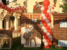 Cowboy deocration custom-made by @fantasyparty