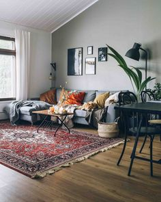 Masculine Interior and Decorating Inspiration with Colors is part of Hygge home - Looking for masculine interior inspiration that features more colors than just black and gray and red We'll show you what to look for, plus tons of photos Home Living Room, Eclectic Living Room, Interior, Eclectic Home, Home Decor, House Interior, Cosy Living Room, Hygge Home, Masculine Interior