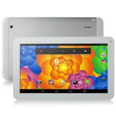 Ainol AX10T 3G Dual Core Phablet PC 10.1 Inch 1GB RAM 8GB ROM Dual SIM GPS - White