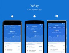 "다음 @Behance 프로젝트 확인: ""YuPay – A Bill Payments App"" https://www.behance.net/gallery/44784317/YuPay-A-Bill-Payments-App"