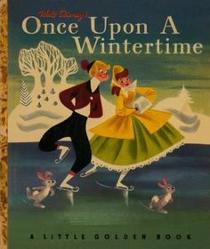 Cover for a Little Golden book by Tom Oreb, designer for Toot Plunk Whistle Boom and Sleeping Beauty