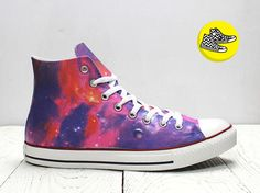 1b2242c2f6c1 Purple  cosmic painted converse personalized  converse  Galaxy shoes. Alex  Tsuker · Star Wars Converse Shoes