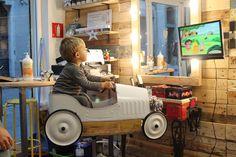 La Geganteta, una peluquería para niños en Gracia