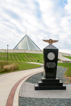 Don't forget to walk outside on the Memorial path at the United States Marine Corps National Museum. You will get a whole different view and appreciation of the men and women of the USMC who died fighting for our country