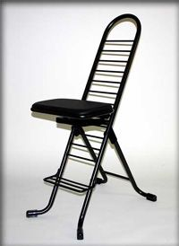 Long legs? Short legs?  The Dura-Adjustable Cello Chair is adjustable to 12 different seat height levels.  Excellent for younger cellists who require a lower seat level, AND for adults who need the sturdy frame, wider chair base, and added height range.  Available at everythingcello.com.