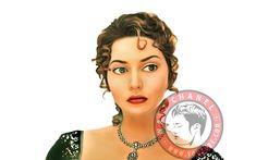 Titanic actress caricature