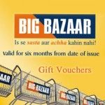 Big Bazaar Gift Vouchers