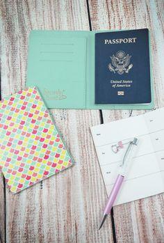 mermaid passport holder