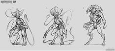 random aliens ideas, all with tech upgrades ! Alien Concept Art, Creature Concept Art, Mythological Monsters, Ghost Movies, Sketch Poses, Alien Design, Alien Races, Alien Creatures, Alien Art