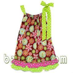 Cómo hacer un vestido para niña con la funda de una almohada