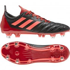 T Bleu Moules Foot Chaussures 34 Crampons Adidas Traxion Et