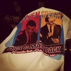 Dick & Matt Pack - Karaoke first. Ask questions later.  :)  #VegasCon2014
