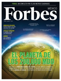 Forbes #Brasil2014 Marketing, Mexico, Digital, Cover, Products, World, Finance, Journaling, Interview