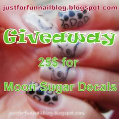 Moon Sugar Decals Review   Giveaway!