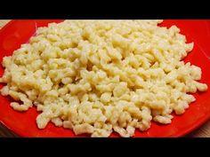 A jó nokedli titkai - YouTube Viera, Risotto, Macaroni And Cheese, Cake Recipes, The Creator, Vegetarian, Ethnic Recipes, Youtube, Food