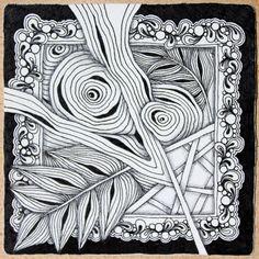 Zentangle tiles - Google Search | Tangles | Pinterest | Zentangles ...