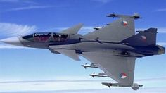 JAS-39 Gripen of Czech Air Force.  #Czechia #technique #aircrafts #army