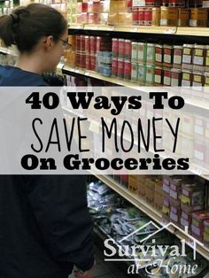 These are great, practical ideas to help anyone save money at the grocery store.  Every penny counts when trying to save for a down payment!  The only tip I'm not quite sure about is #4 - forage for food.  Maybe that's just because I live in Southern California though where this just sounds strange!