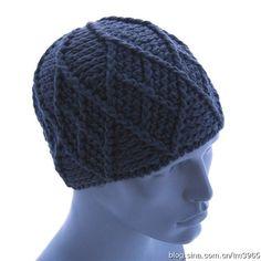 Men crochet cap