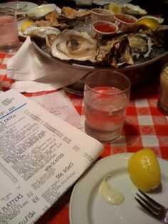 Grand Central Oyster Bar (love this place, wish the service was better)