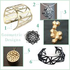 geometric jewellery - Google-haku