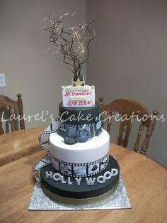 Hollywood themed birthday - by Laurel's Cake Creations @ CakesDecor.com - cake decorating website