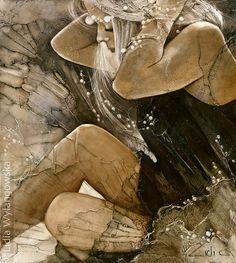 'Birth of Pearl' | Art of Lidia Wylangowska | http://www.lidiawylangowska.com