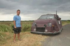 Reed Timmer with the Dominator (Storm Chasers)