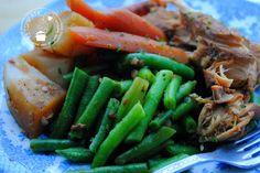 Kip met groenten uit de slowcooker