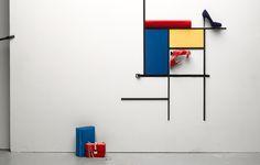 Wolf-Dieter Böttcher:::Fashion & Accessories.  Mondrian (and then some)
