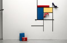 Wolf-Dieter Böttcher:::Fashion & Accessories.  Mondrian (and then some)