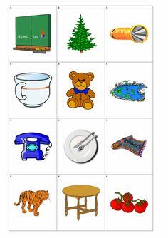Dyslalie - Bildkarten zu [t] - Therapiematerial Logopädie Abc For Kids, Crafts For Kids, Bingo, Montessori, Literacy, Alphabet, Kindergarten, Clip Art, Teaching