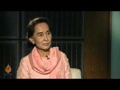 Talk to Al Jazeera - Aung San Suu Kyi: 'There is no rule of law' - YouTube