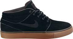 Nike SB Zoom Stefan Janoski Mid  Black / Black