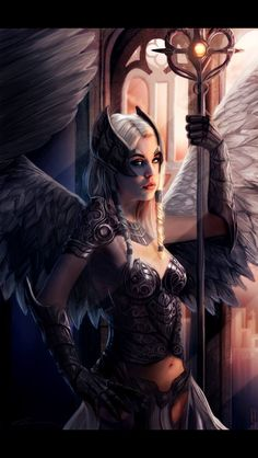 elves and angels
