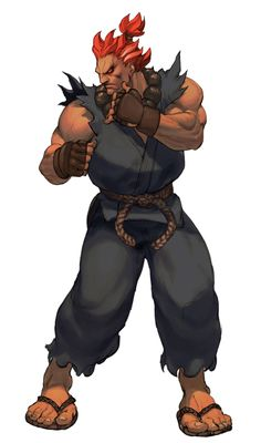 Akuma Third Strike HD by ~steamboy33 on deviantART