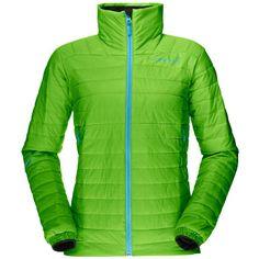 Norrona Falketind Ladies green (Size: L) windbreaker Late Summer, Lightweight Jacket, Color Combinations, Windbreaker, Jackets For Women, Lady, Shirts, Insulation, Track